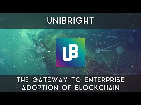 Unibright | The gateway to enterprise adoption of blockchain