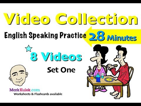 Introduce Yourself + More | English Speaking Practice | 28 Minute Video Collection - Set 1 | ESL