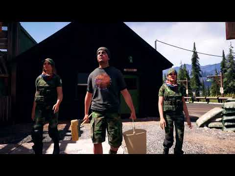Far Cry 5 PC - Singleplayer footage