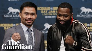 'He ain't fighting Floyd': Broner irritated during colourful Pacquiao conference