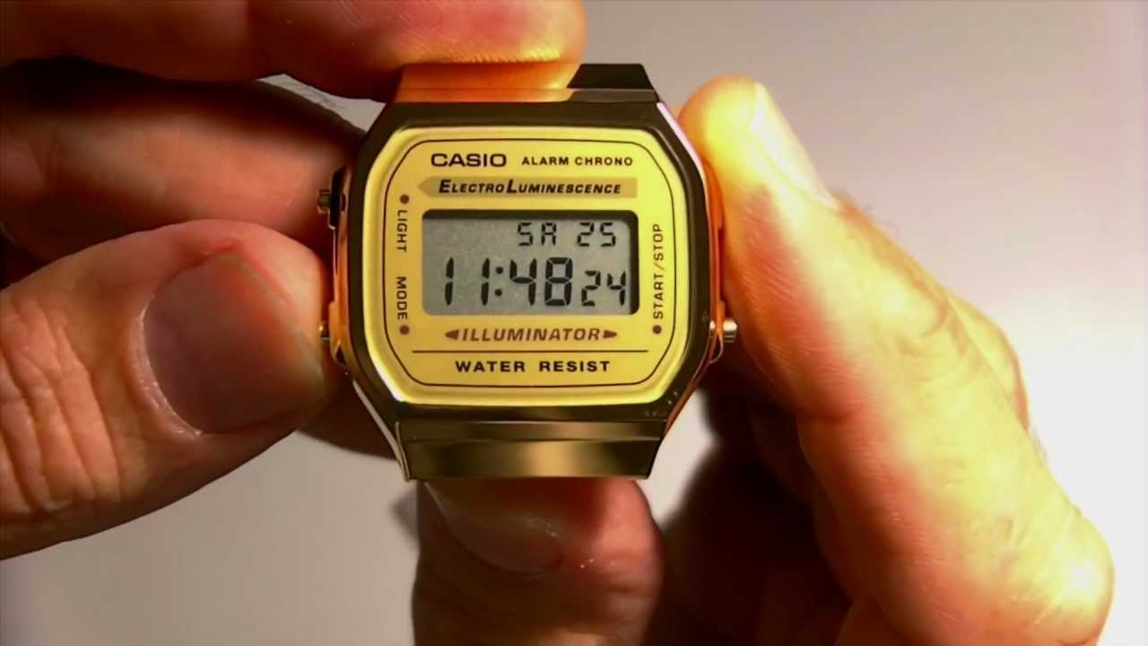 how to change the time on a maxum digital watch