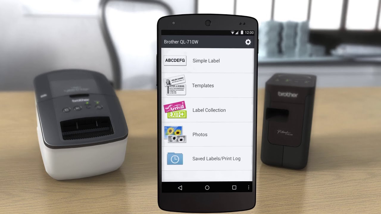 Free Brother iPrint&Label App to easily print labels from your ...