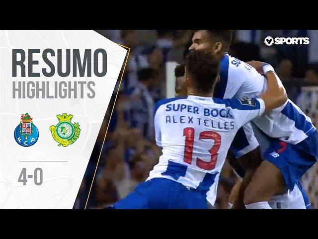 Highlights | Resumo: FC Porto 4-0 Vitória FC (Liga 19/20 #2)