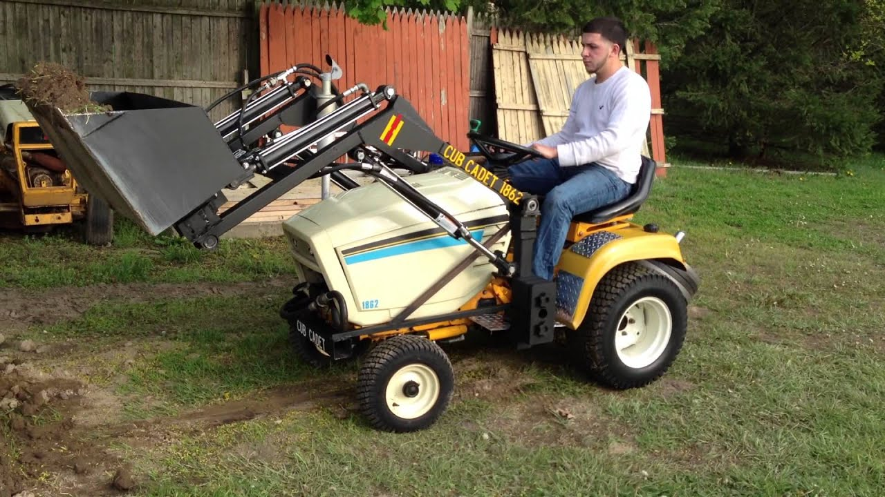 Cub Cadet Loader - YouTube