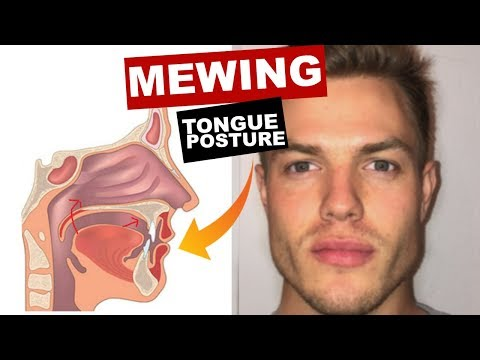 MEWING Tongue Posture | Train Your Tongue to Attach to Your Mouth
