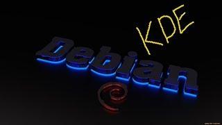 Linux Debian KDE  ( обзор операционной системы )