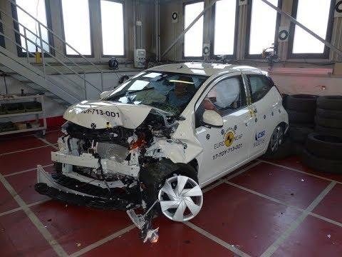 Toyota Aygo - 2017 - Crash test Euro NCAP