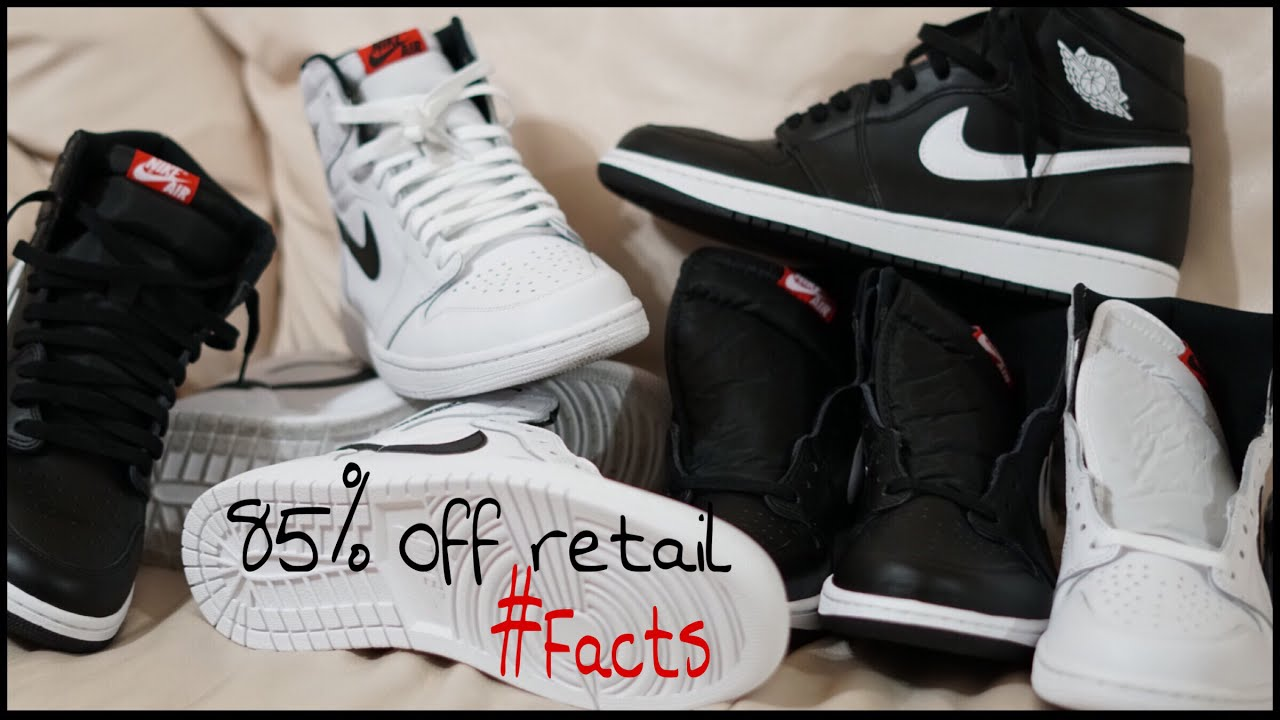 Buying Jordan 1's for $24 at a Nike Outlet