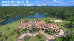 7-Acre Texas Lakefront Property For Sale in Spring TX | Estate Near Houston