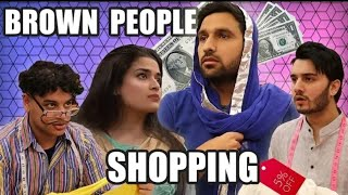 Brown People Shopping - ZaidAli Vlogs | Shahveer Jafry | Sunny Jafry