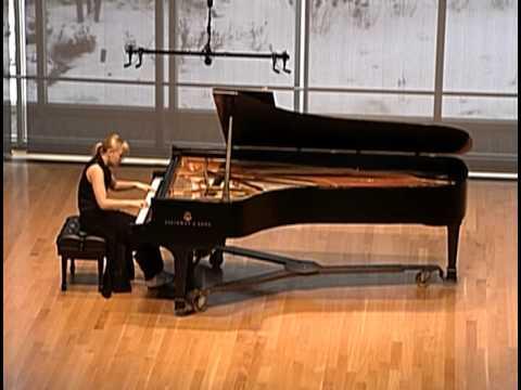 Maggie Morrison, piano: Scarlatti Sonata in d minor