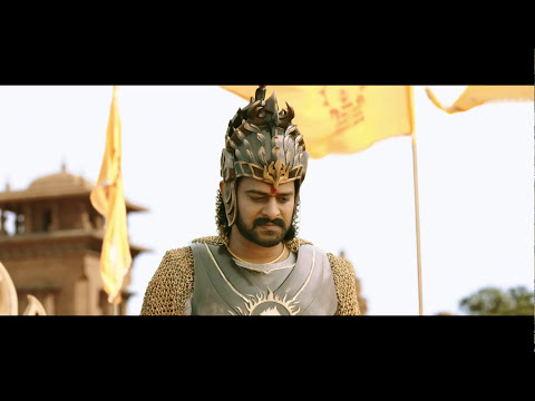 Amarendra_Baahubali_Anu_Nenu_Interval_Scene_in_Baahubali 2_Movie_Prabhas and Anushka,Thaman.
