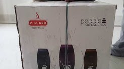 V Guard Pebble Water Heater / Geyser 5 star 10 Liters storage Unboxing