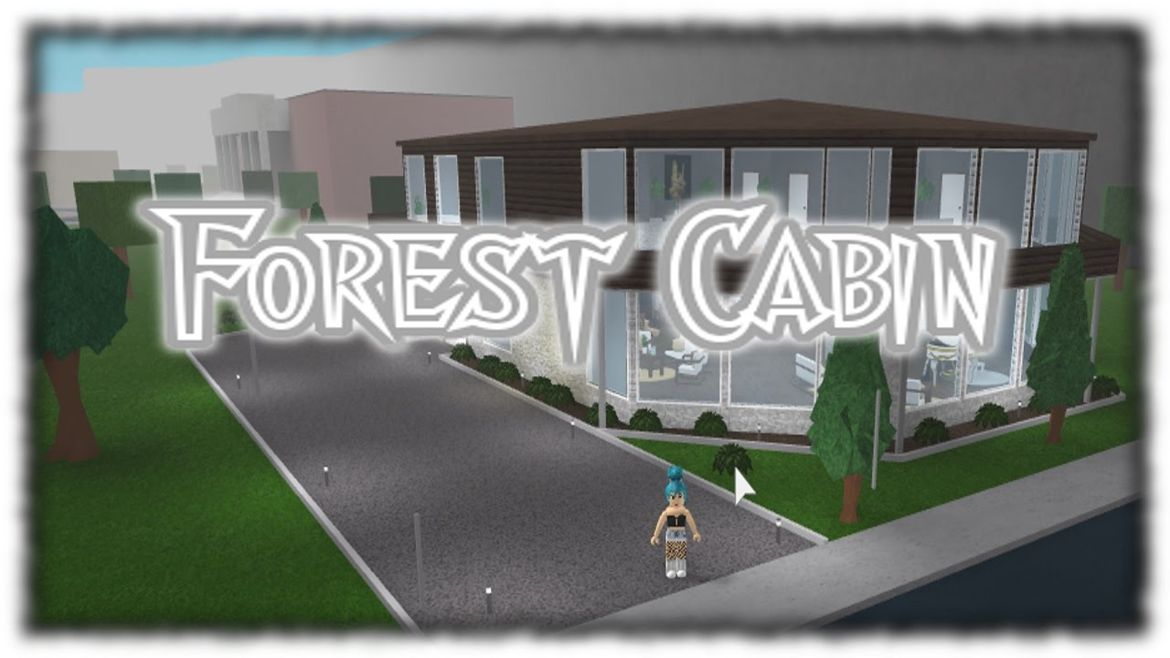 Roblox Cabin Bloxburg Youtube