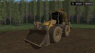 Farming Simulator 17 JCB 4cx Mod