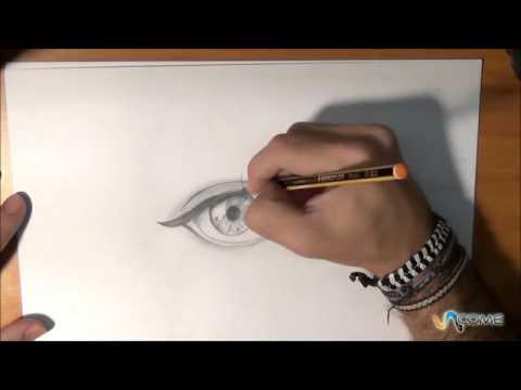 Come Disegnare Un Occhio In Maniera Realistica Youtube