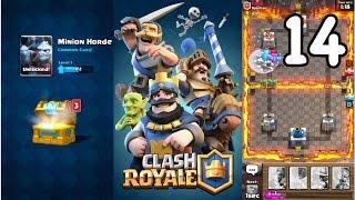 Clash Royale - I GOT MINION HORDE + REACHING 1200+ TROPHIES!