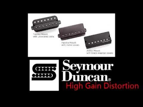 Seymour Duncan Nazgul Demo: Reamped DI track - YouTube