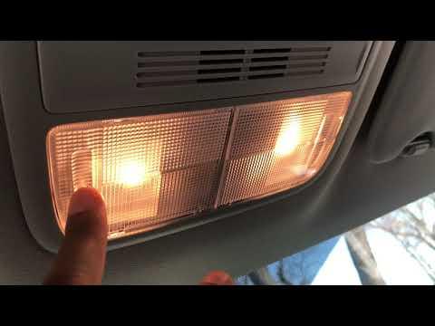 Honda HR-V – How to turn on/off interior ceiling lights
