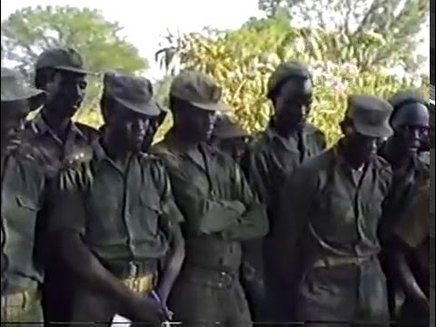 The SPLA forces in Front-line for Rumbek attack under Salva Kiir Mayardit part.1