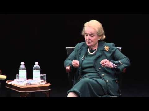 A Conversation with Madeleine Albright  - sponsored by the Dickey Center at Dartmouth