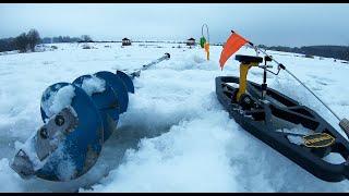 МОЛЧАНИЕ ЩУКИ Зимняя рыбалка ФИШКА ДАНИЛОВО Обзор водоема в ТаймЛапс Отличный отдых