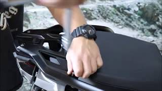 Inatsallation instruction BUMOT top mount and pannier racks for BMW R1200/1250GS LC