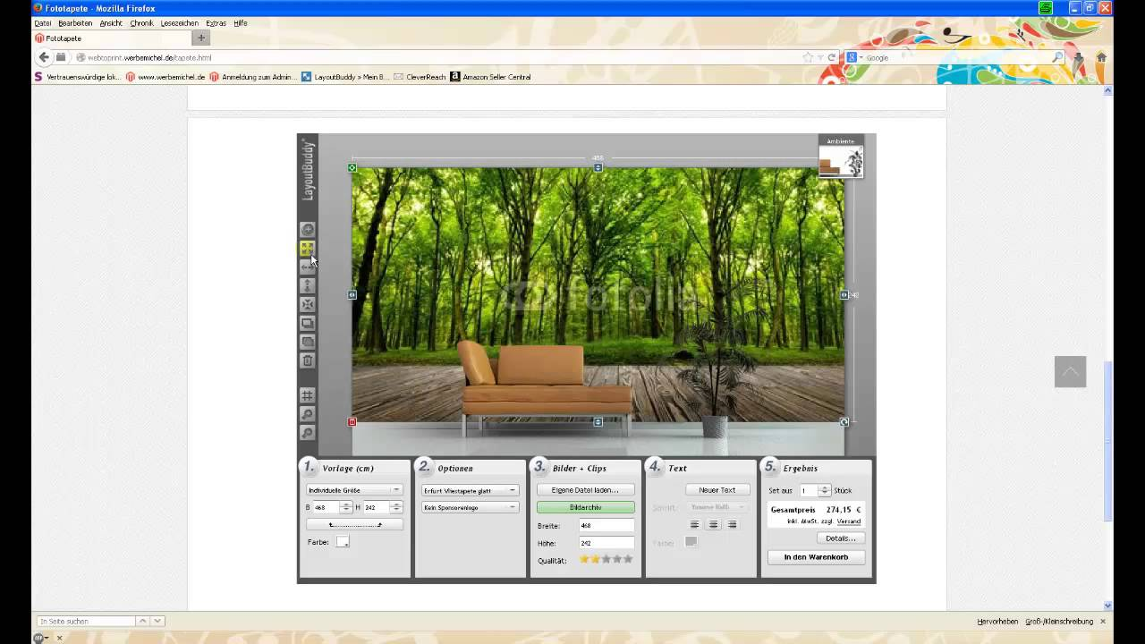 fototapete selber gestalten fototapete selbst gestalten eigene fotos auf tapete fototapete. Black Bedroom Furniture Sets. Home Design Ideas