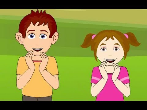 If You Are Happy And You Know It Clap Your Hands Nursery Rhymes| Cartoon Animation For Children