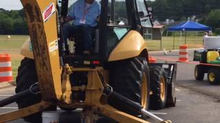 TDOT Operations Symposium and Equipment Training - June 28, 2016 (Backhoe Competition)