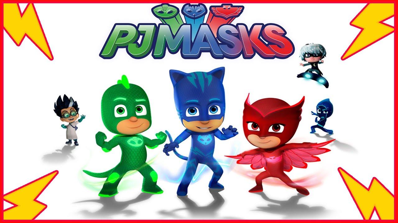 PJ Masks Draw Catboy Gekko Owlette Romeo Luna Girl PJ Masks, Fun Coloring  Videos For Kids   YouTube