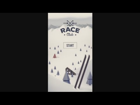 Ski Race Club (by Best mobile sport games) - sport game for android - gameplay.