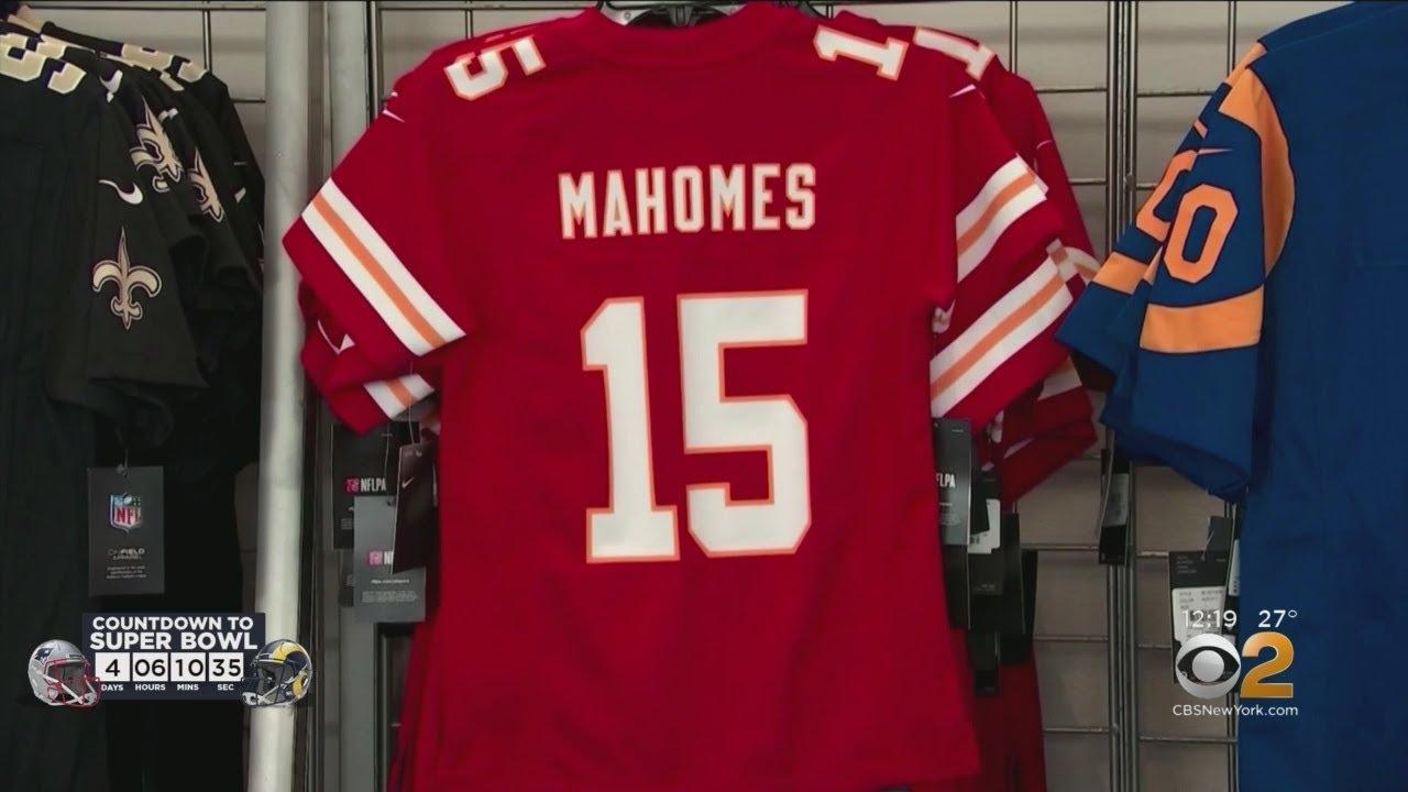 los angeles f21c2 10e97 Counterfeit Super Bowl Merchandise Seized