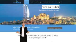 DUBAI VIZE | Kancelarija za izdavanje viza za Dubai, UAE Video