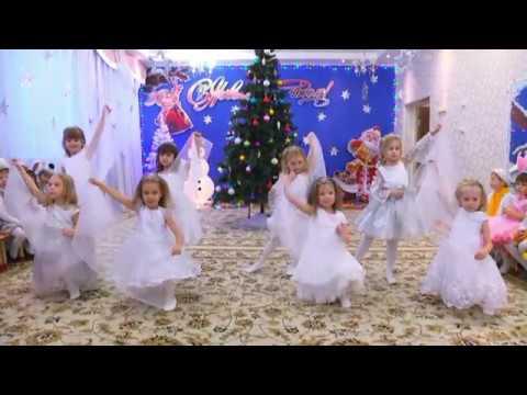"""Танец снежинок. Старшая группа №9 МБДОУ г.Астрахани """"Детский сад №68 """"Морячок"""""""