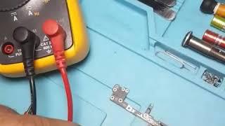 tamirci olmak isteyenler cep telefonu tamiri için önce  ormaj değerini ölçmek  (AVO metre)