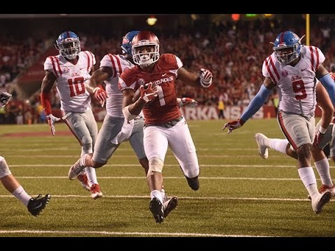 Arkansas vs. Ole Miss 2016