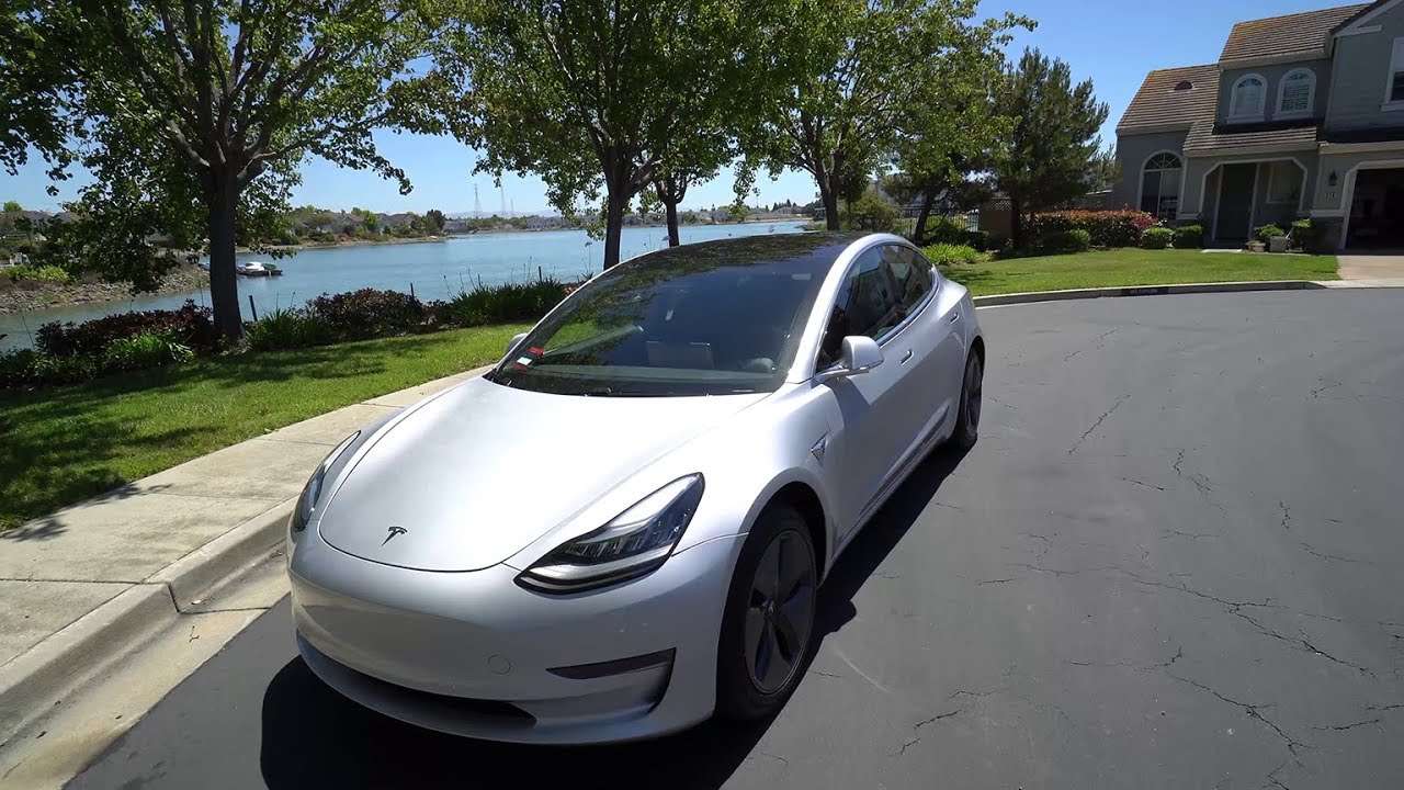 Picking Up My Tesla Model 3 Delivery Experience And First Impressions