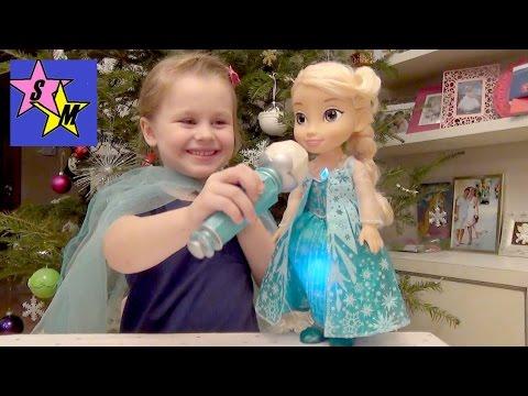 Кукла Эльза с микрофоном Холодное сердце Disney Frozen Sing-A-Long Elsa Doll