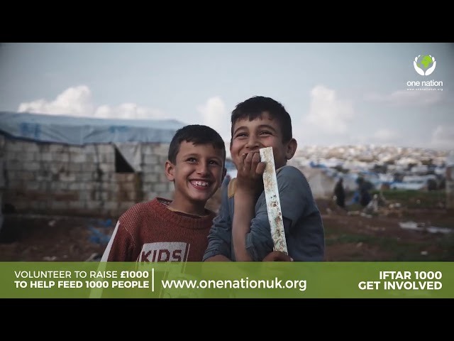 Can You Help Feed Syria This Ramadan? - Join Iftar 1000!