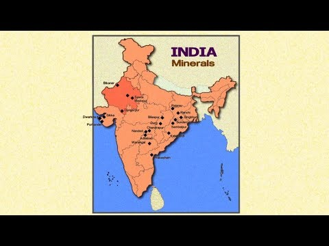Minerals In India