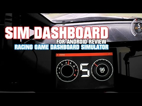Sim Dashboard for Android Review (Free version)