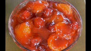 АБРИКОСОВОЕ  ВАРЕНЬЕ  Необычный рецепт ягодного варенья.