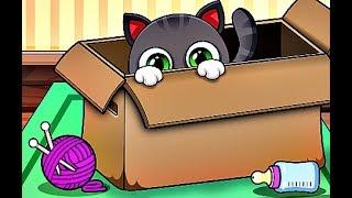 ПРИКЛЮЧЕНИЕ МАЛЕНЬКОГО КОТЕНКА Оливер мультфильм про котят мультик для детей Мульт ИГРА
