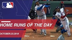 Watch all the home runs for October 23, 2018