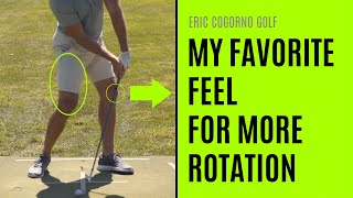 GOLF: My Favorite Feel For More Rotation