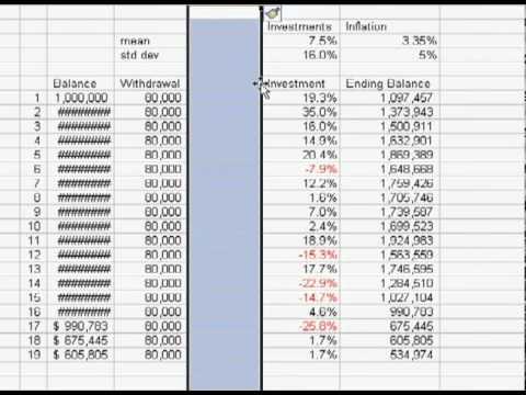 Retirement Income Calculator 4 - YouTube - retirement withdrawal calculator