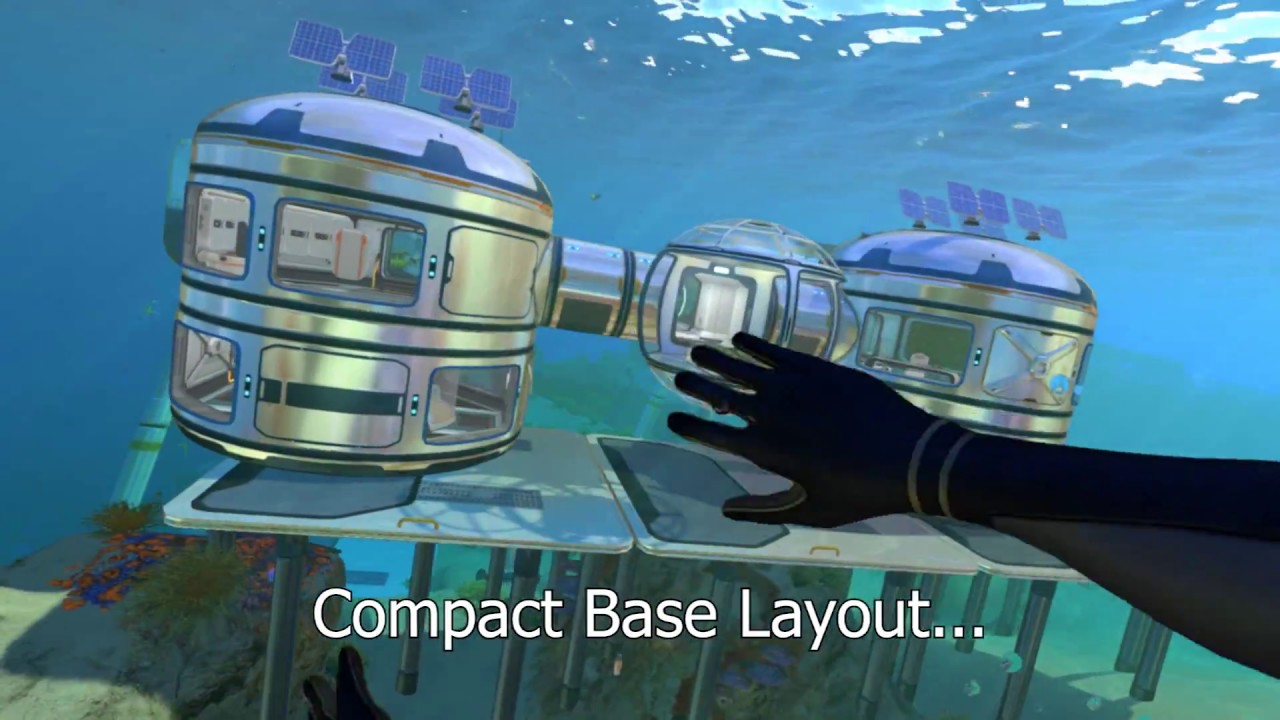 Subnautica compact base layout youtube The best layout