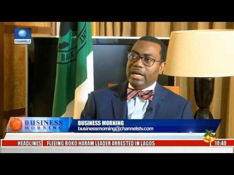 Akinwunmi Adesina Speaks On AfDB's Investments In Nigeria's Economy