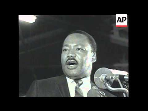 Watch Martin Luther King Junior's 'I've Been to the Mountaintop' speech in Memphis the day before he